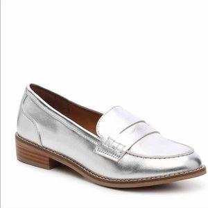 Steve Madden Cyylo Loafers Metallic Loafer 9.5